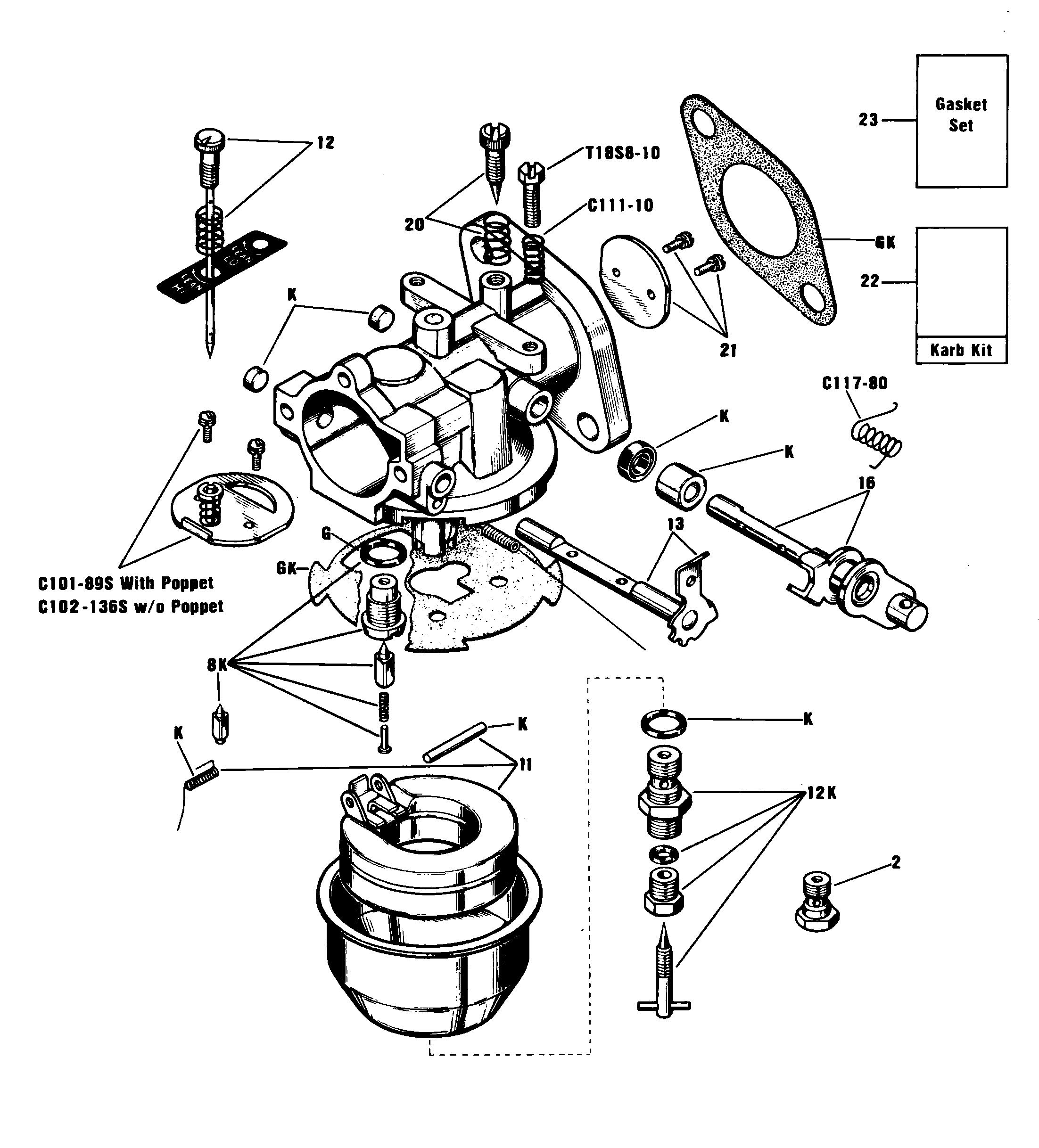Onan Generator Parts Diagram