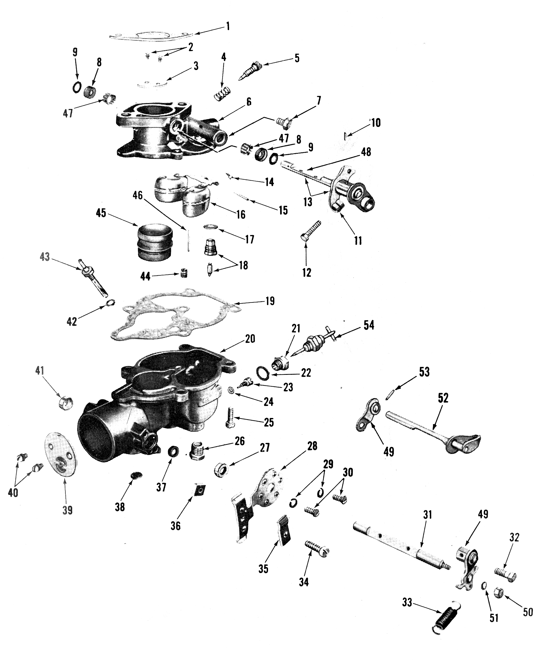 Zenith 12522 carburetor kit float and manual zenith 68 carburetor exploded view ccuart Choice Image
