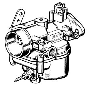Fine Zenith 12076 Carburetor Kit Float And Manual Wiring Cloud Peadfoxcilixyz