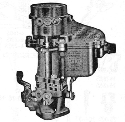 CK547 Carburetor Kit for1936-1937 Chrysler Carter BB