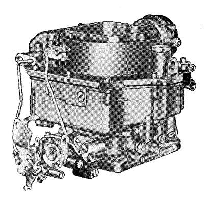 CK4833 1952-1956 Carter WCFB Carburetor Rebuild Kit