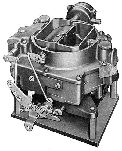 CK4486 Carter WCFB Carburetor Kit