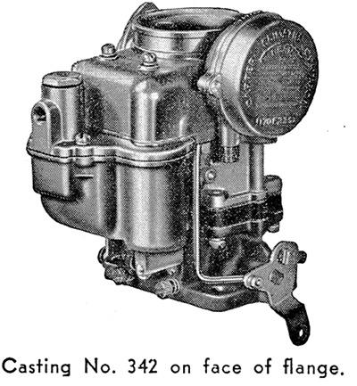 CK4548 carburetor kit for Carter WDO